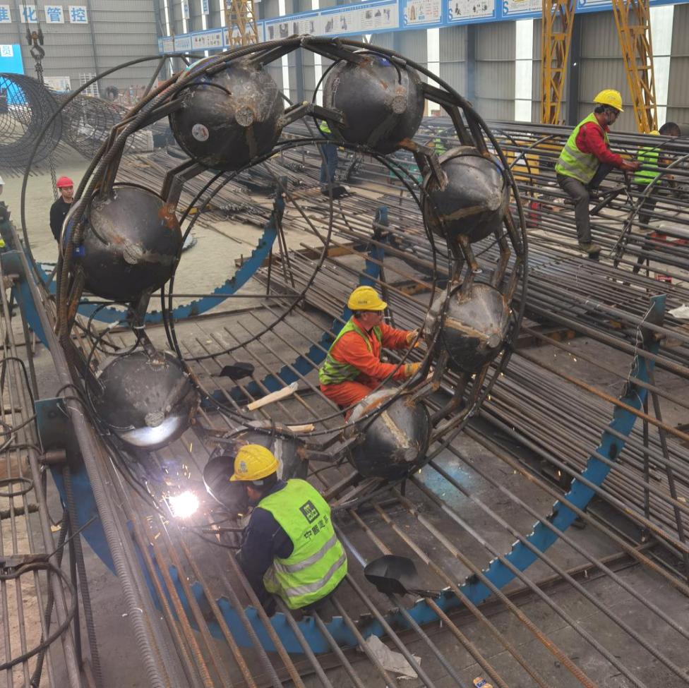 项目分享 | 多项核心技术加持,3米直径欧感荷载箱助力特大桥建设!