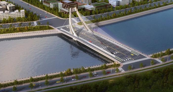 张家口纬二桥项目