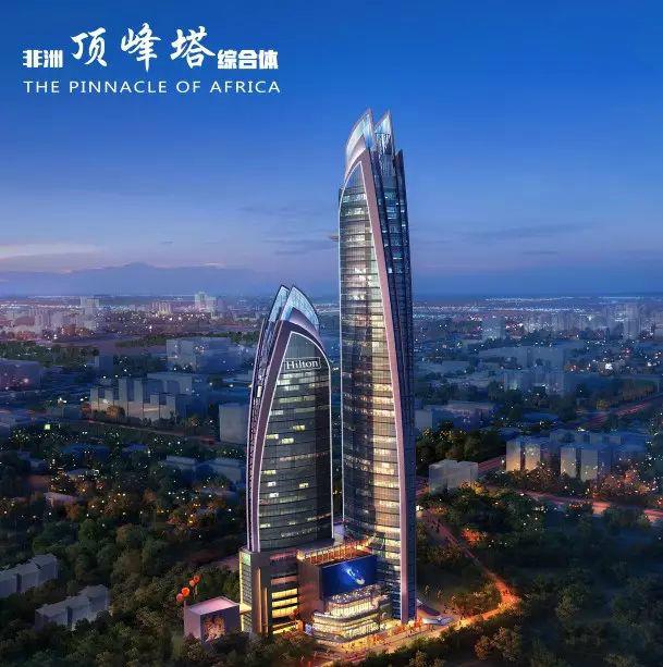 """欧感荷载箱享誉非洲第一高楼""""肯尼亚顶峰塔""""项目"""