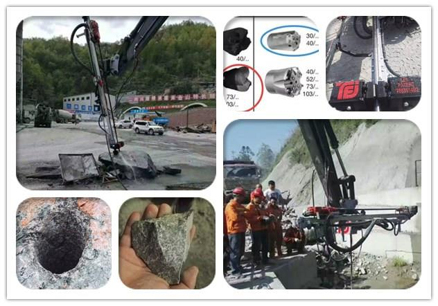 MME260 挖改钻设备四川巴中隧道项目调试成功-欧感荷载箱